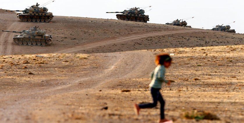 TURKEY-SYRIA BORDER REFUGEES
