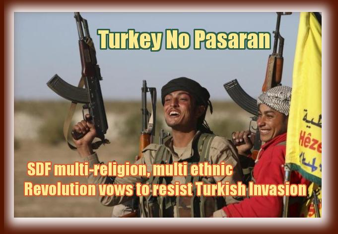 SDF resists Turkey