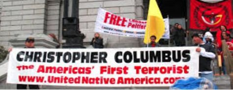 colombus-americas-first-terrorist-indigenous-genocide-the-cut-holic-crimes-save-native-american-chitra-nusa-sprei-home-made
