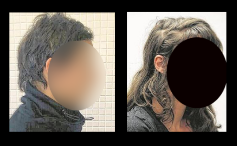 Police photos released of 2 accused (we have blanked out their faces) show no resemblance to the security camera photos.