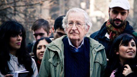 Noam Chomsky thinks the biggest news of November 8 was actually 'barely noted'