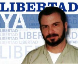Ramon Labañino, one of the five Cuban anti-terrorist fighters, who were given unfair and long prison terms in the United States,
