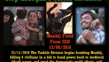SDF will halt Raqqa operation if Turkey does not stop attacking Manbij