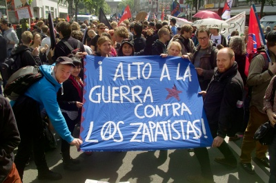 Stop the war against the Zapatistas