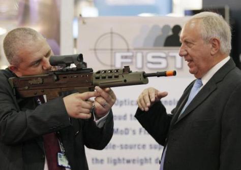 dsei-arms-fair