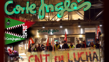 The prosecution requested five years in prison for a campaign of boycott El Corte Ingles