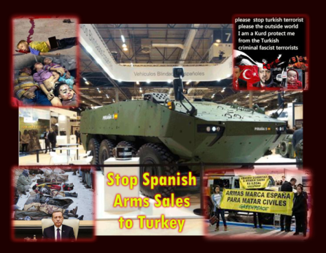 Turkish State Also Murders With Spanish Made Arms