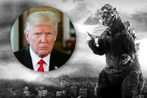 Image result for godzilla attack US
