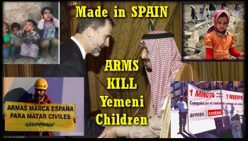 312 Containers of Arms shipped from Spain to Saudi Murderers