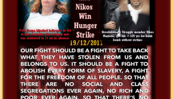 Victory! Nikos and Pola end Hunger Strike. Victory!