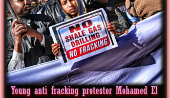 Algeria Green-lights climate-lethal Fracking Gas with EU Imperialists TOTAL and CEPSA