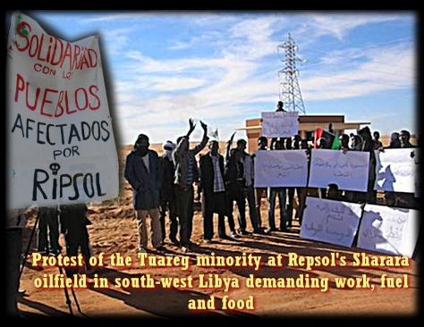 Repsol Sigue Saqueando Libia: el último Sabotaje de un Oleoducto no le Afecta