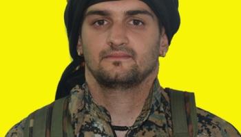 Compañero Samuel de Galicia Matado entre otros defendiendo Afrin de los Fascistas