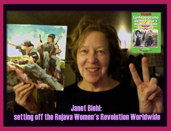 Defending Afrin means Defending the Women's Revolution.