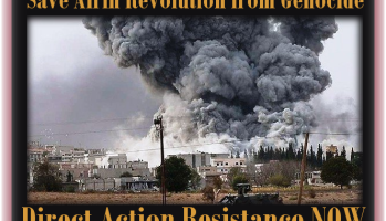 When #Afrin falls it will be too late! .. Direct Action Resistance Called against Fascism