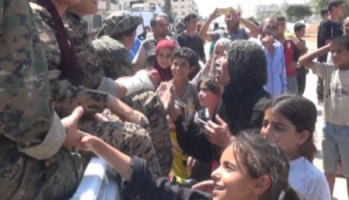 SDF and Women's Revolution in Manbij betrayed by Trump to Terrorist Erdogan