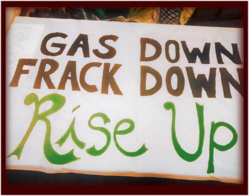 Global Anti Frack Day .. #GasDownFrackDown