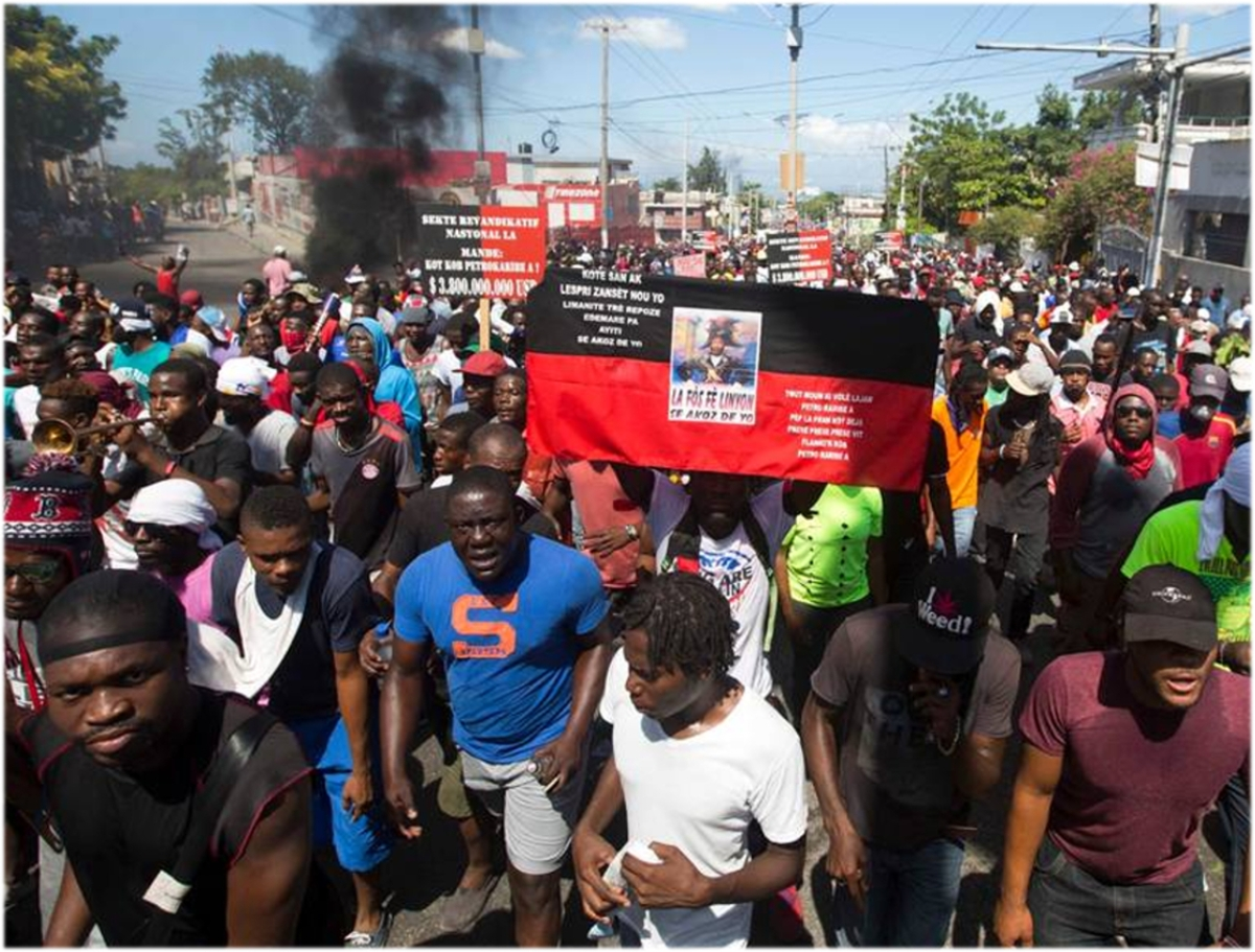 Haiti: A Million People demand Freedom and Justice