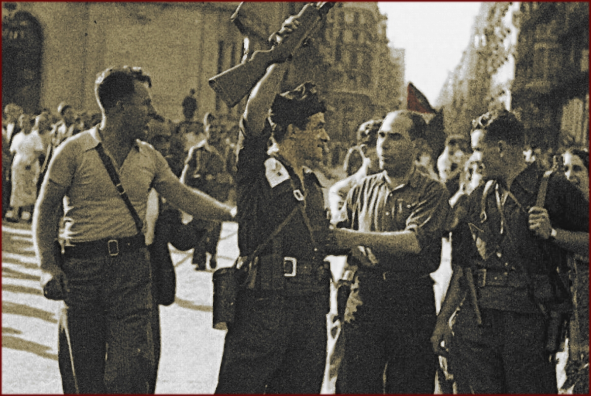 Durruti and Garcia Oliver Live: in The Echo of Their Footsteps'