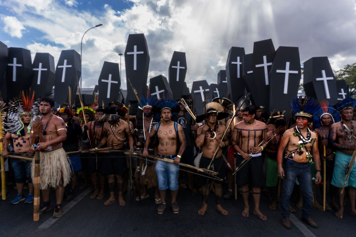"Indigenous peoples to Bolsonaro: ""We Refuse to be Treated as Inferior beings"""