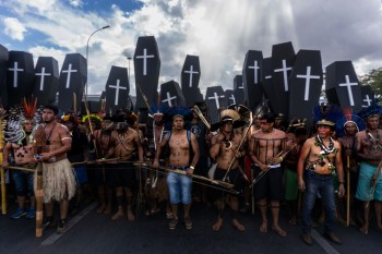 """Indigenous peoples to Bolsonaro: """"We Refuse to be Treated as Inferior beings"""""""