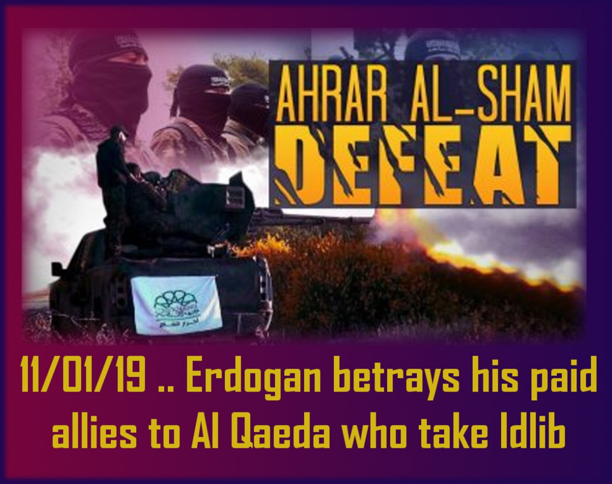 Erdogan betrays his Mercenaries, letting Al Qaeda/HTS take over Idlib + SAVE LEYLA GUVEN