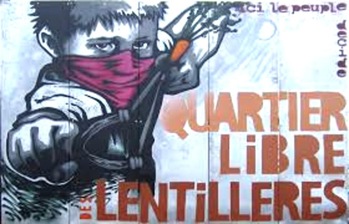 Lentillères Free District: Occupied Urban Gardens Grow CommunityZAD