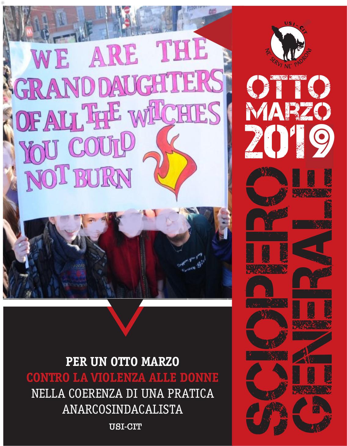 March 8 Feminist General Strike plans: SpreadingWildfire