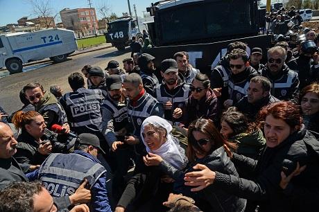 TURKEY-KURDS-FUNERAL
