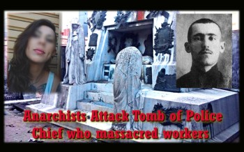 Injured Anarchist refused medical help. 11 Face Trial after Attack on Tomb of Police Chief