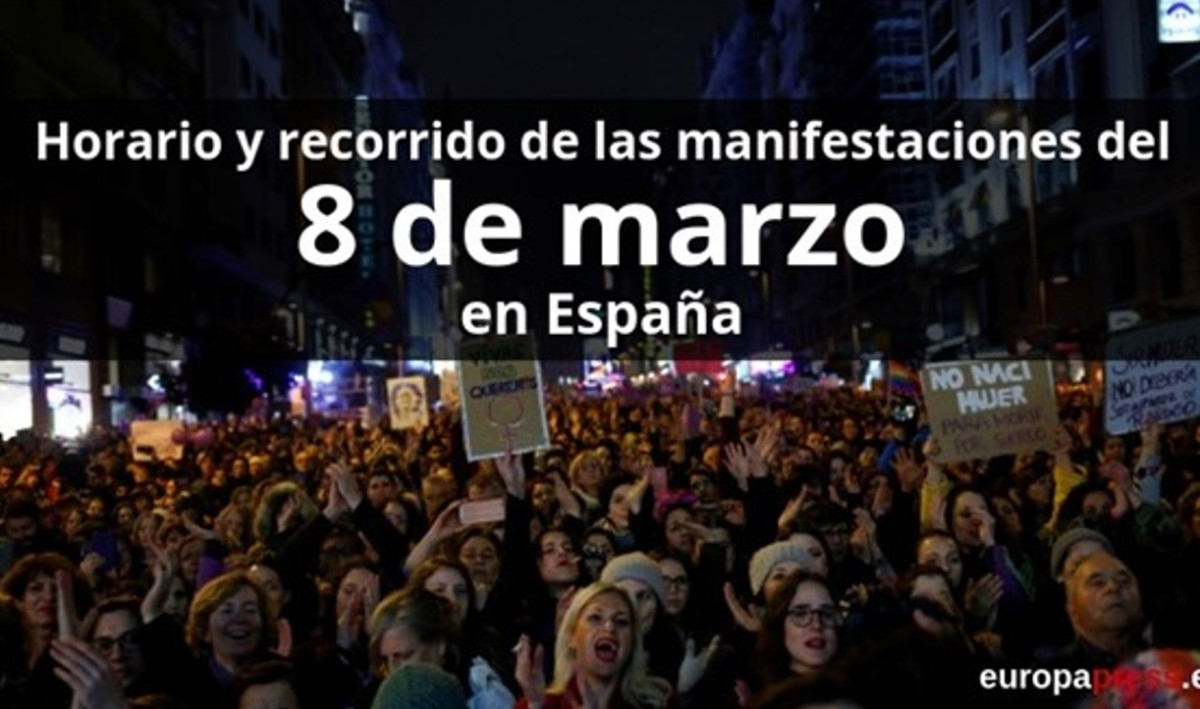 Spain: More than 1,200 call-outs for the Feminist Strike of 2019