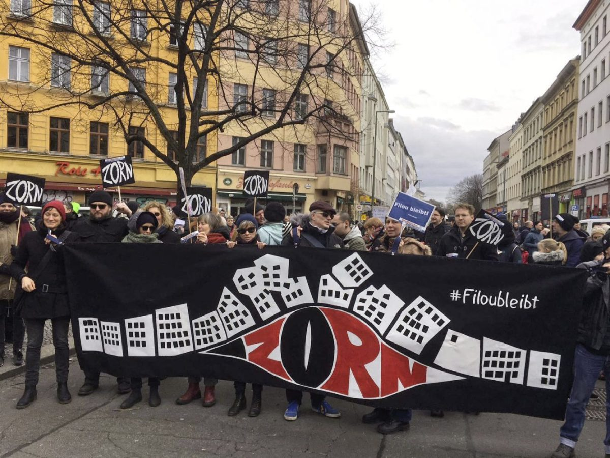 Berlin, Germany: Action Days Against Rent Madness Begin