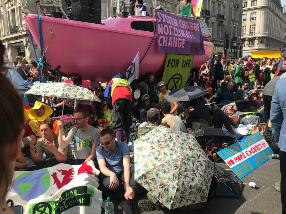 Extinction Rebellion: Rolling Protests go Worldwide