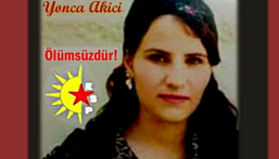 Support Hunger strikers: Yonca Akici, is the 6th to Die.. Stop Erdogan!