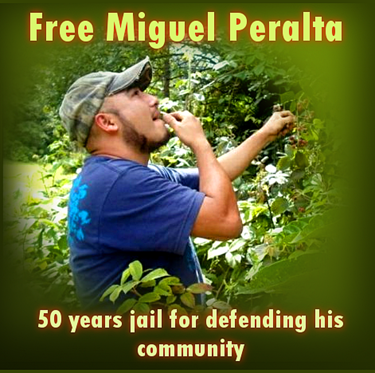 Resisting 50 years jail for Defending Community.. by Miguel Peralta