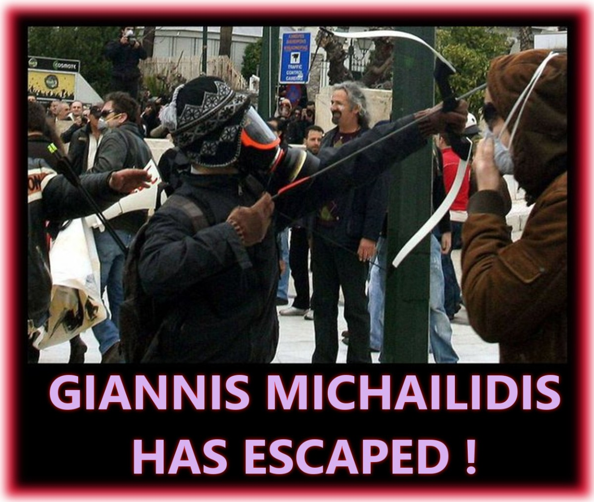 Greek Anarchist Prisoner Escapes .. Giannis isFree!