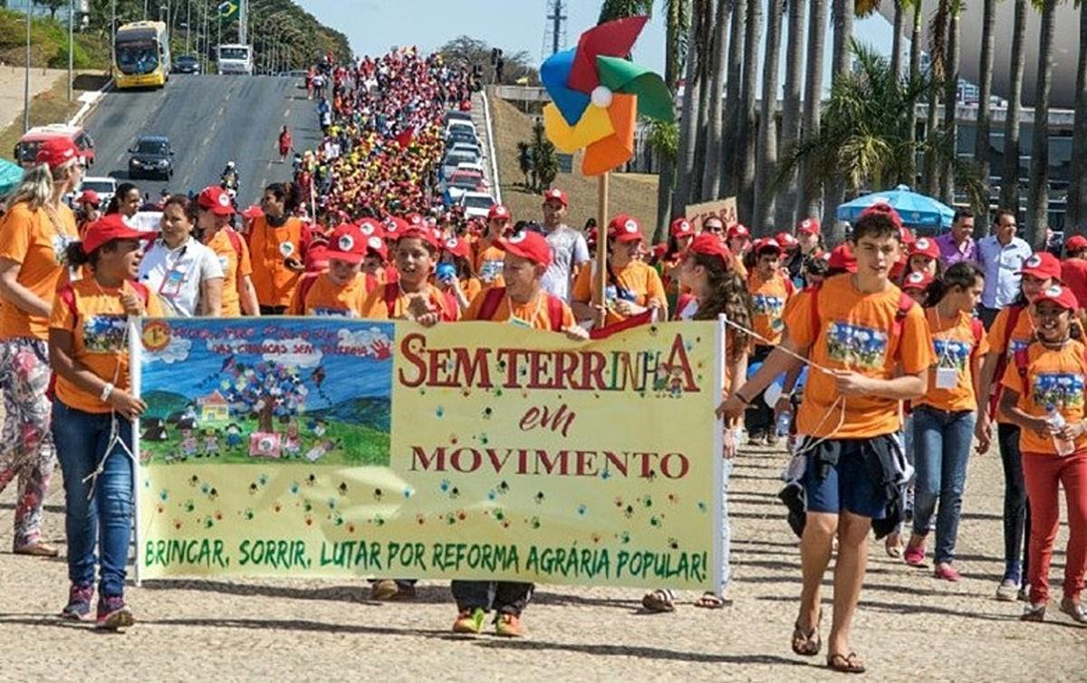 Landless MST Camps resisting neo-fascist BolsonaroRegime