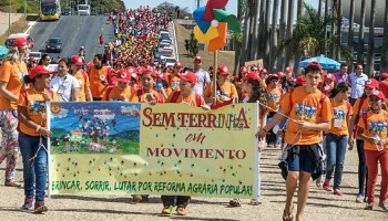Landless MST Camps resisting neo-fascist Bolsonaro Regime