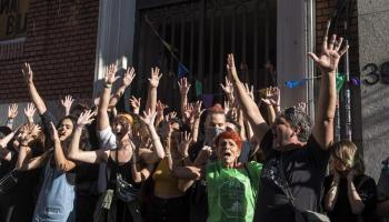 Dawn Eviction Fails at 'The Ungovernable', Madrid Occupied Social Center