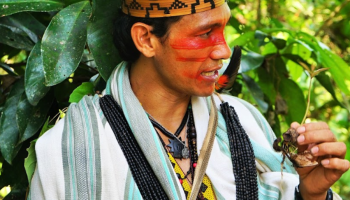 'Our Governments Are Killing the Earth.' Brazilian Indigenous Leader