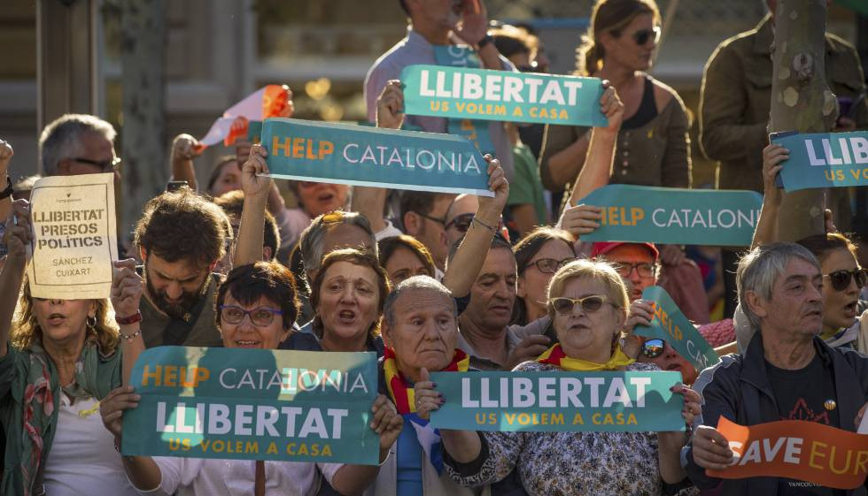 Catalan Leaders get up to 13 yrs Jail for allowing Popular Referendum