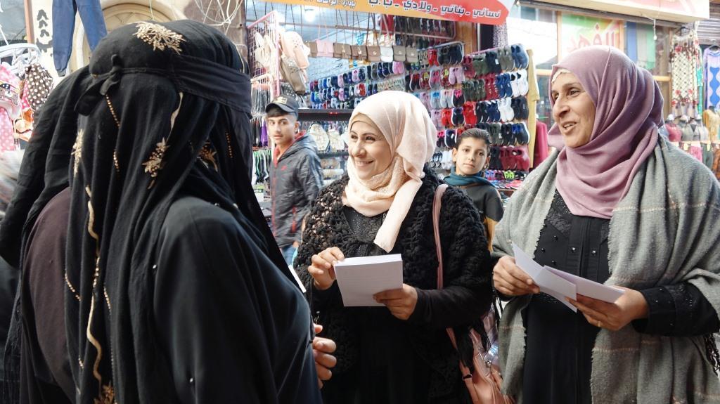 Rojava women organise Day for Elimination of Violence against Women. 25Nov.