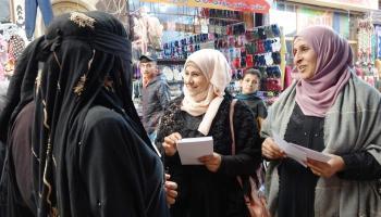 Rojava women organise Day for Elimination of Violence against Women. 25 Nov.