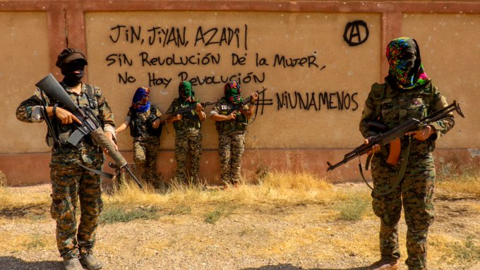 Global call to defend the Rojava Revolution! +Internationalist's Report from Til Temir frontline