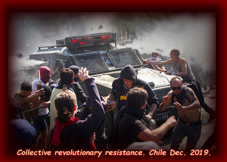 "Chilean Uprising Continues: ""A Smell of Revolution in the Air"""