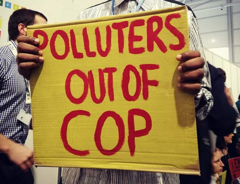 Green Groups at COP 25 oppose false Capitalist Solutions to ClimateEmergency