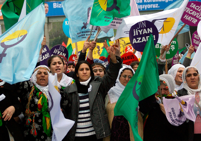 1,564 women subjected to violations by Turkish occupation within 2 years