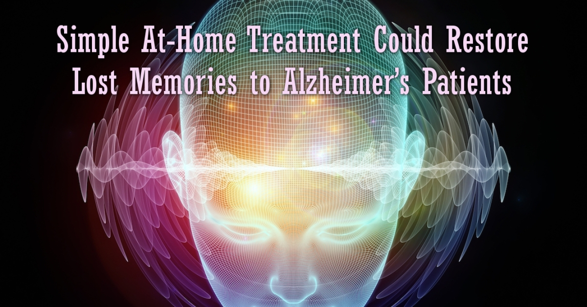 Alzheimer's In Mice Reversed Using Light and Sound Only.. could be Simple At-Home 1 hr a day Cure Light-sound