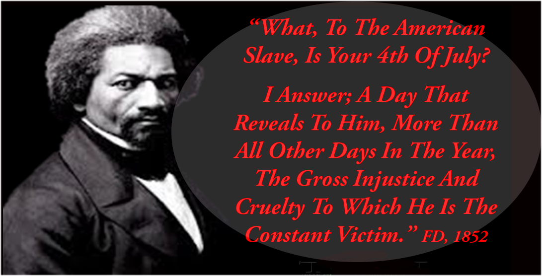 'What to the Slave is the Fourth of July?'.. Douglass' Descendants deliver Speech..video