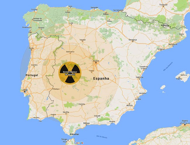 Portuguese party PAN lodges complaint to U.N. about Spain's ageing Almarez nuclear power station — nuclear-news